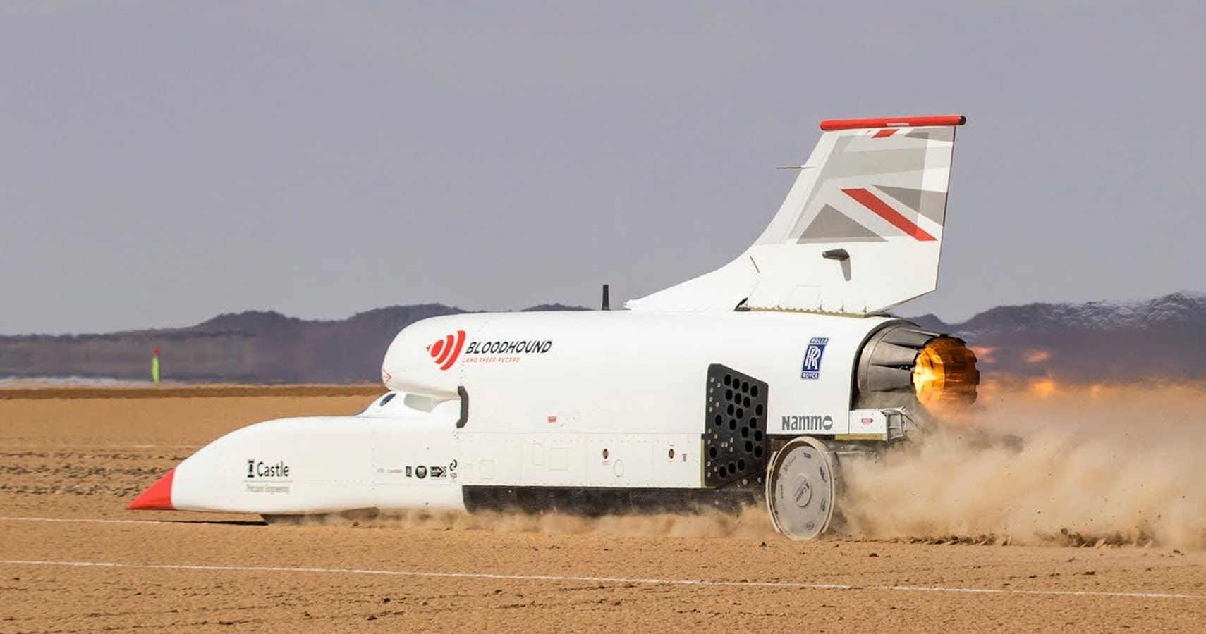 Ever Wanted To Own A Land Speeder? The Bloodhound Is Up For Sale