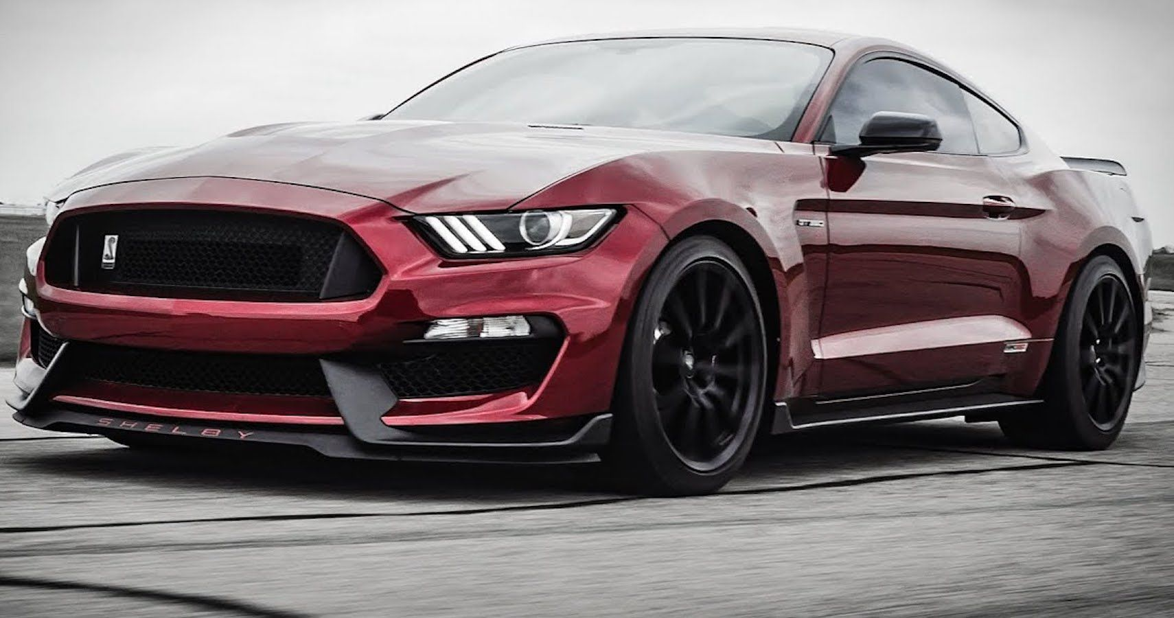 Listen To Hennessey's Supercharger Upgrade For This Mustang GT350's Voodoo V8
