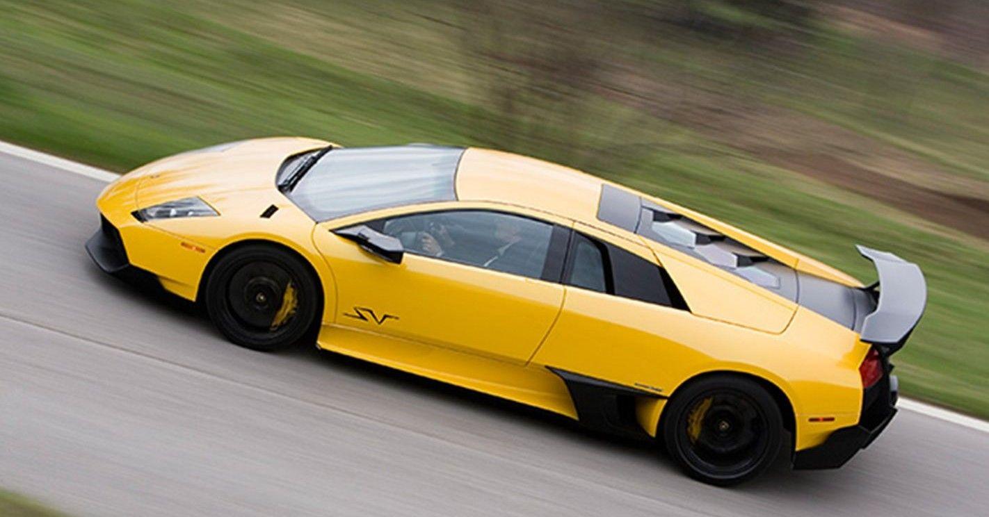 A Detailed Look At The Lamborghini Murcielago SV