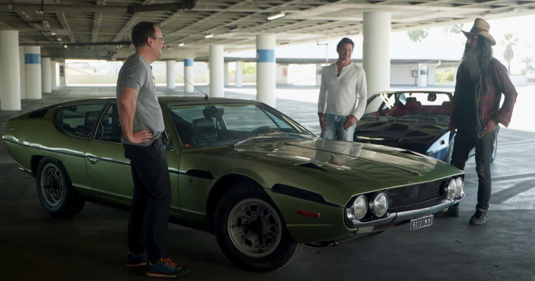 Magnus Walker Takes Out A Lamborghini Espada and Ferrari 308 GT4 For Some Fun