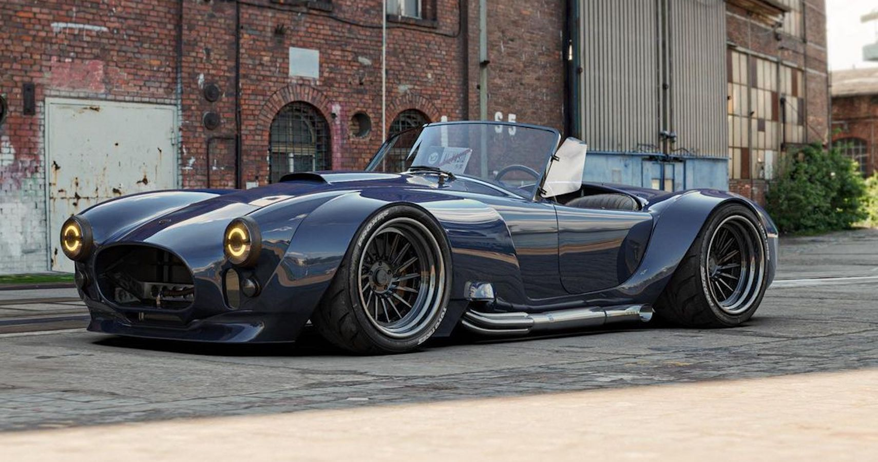 This Neoteric Shelby Cobra Looks Like A Blast To Drive | HotCars