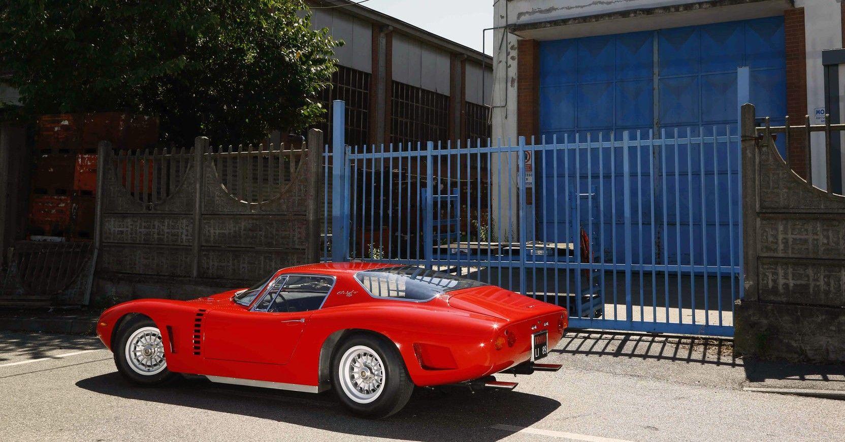 Here's A Look At The 1965 Bizzarini A3C: A Non Ferrari GTO Of The '60s