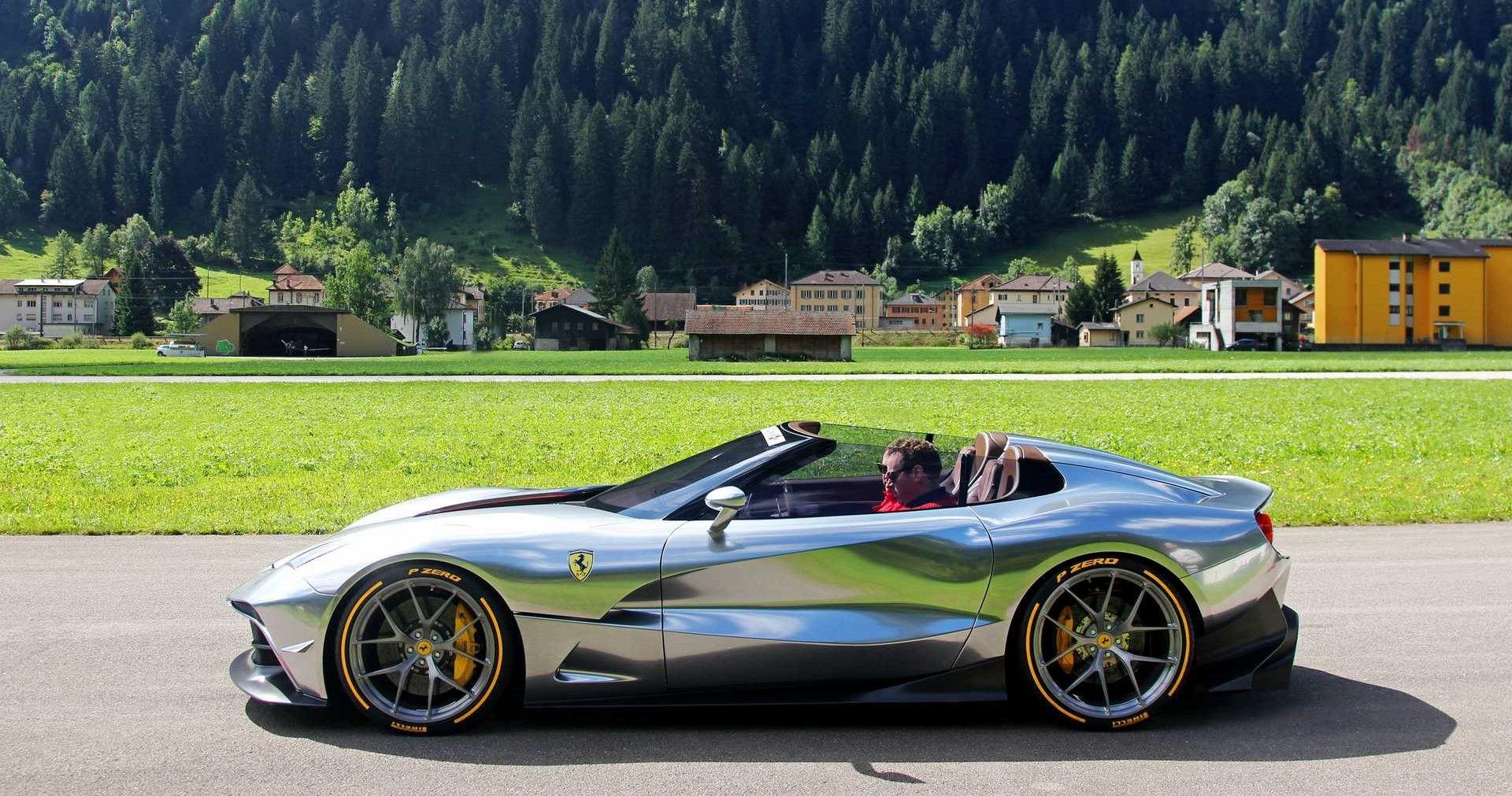 An In Depth Look At This 2 5m Ferrari F60 America Hotcars