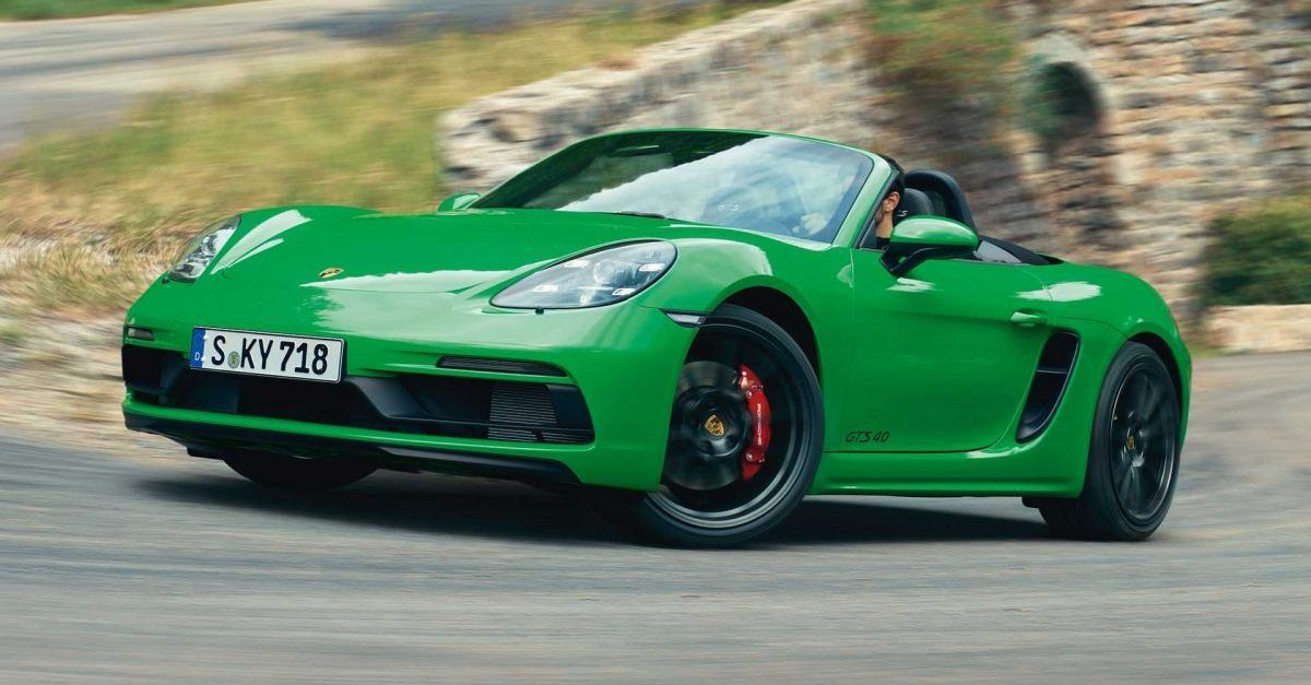 Here's Why The Porsche 718 GTS 4.0 Is The Best Porsche To Buy Right Now