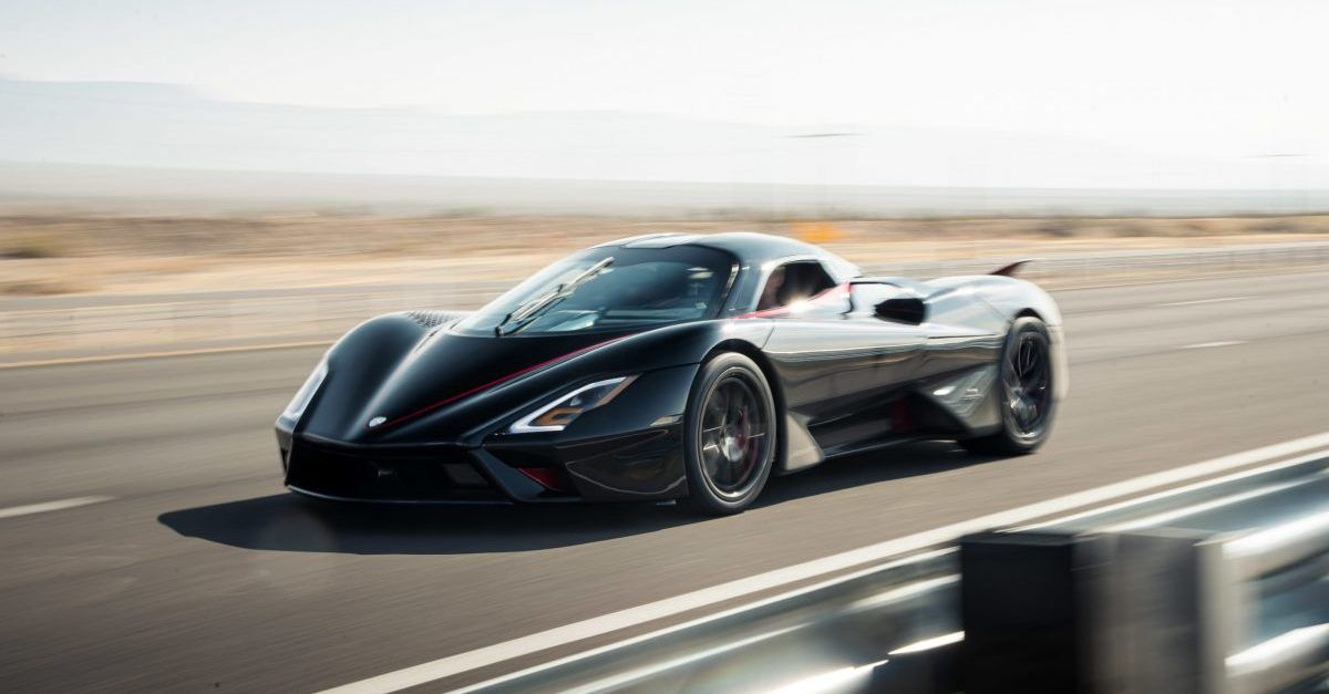 These Are The 10 Fastest Supercars Of 2021