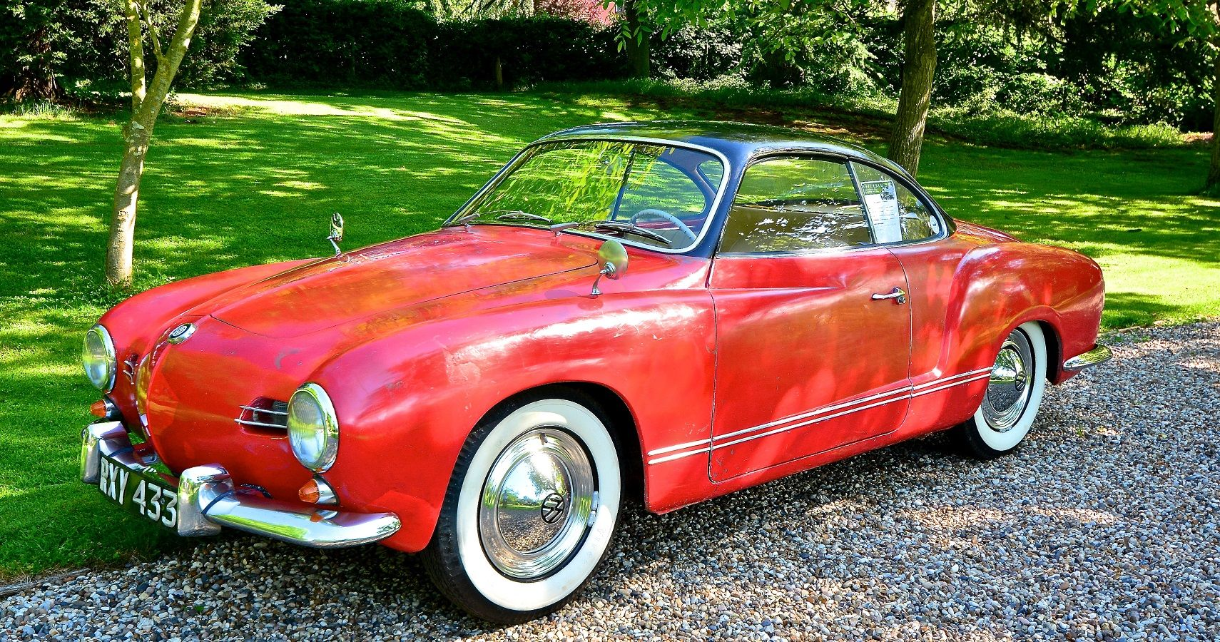 Here's How Much A Classic Volkswagen Karmann Ghia Is Worth Today