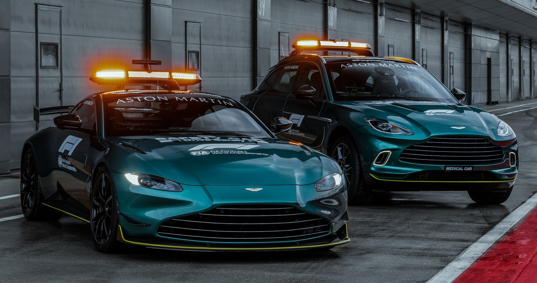 Aston Martin 2021 Formula 1 Safety And Medical Cars Unveiled
