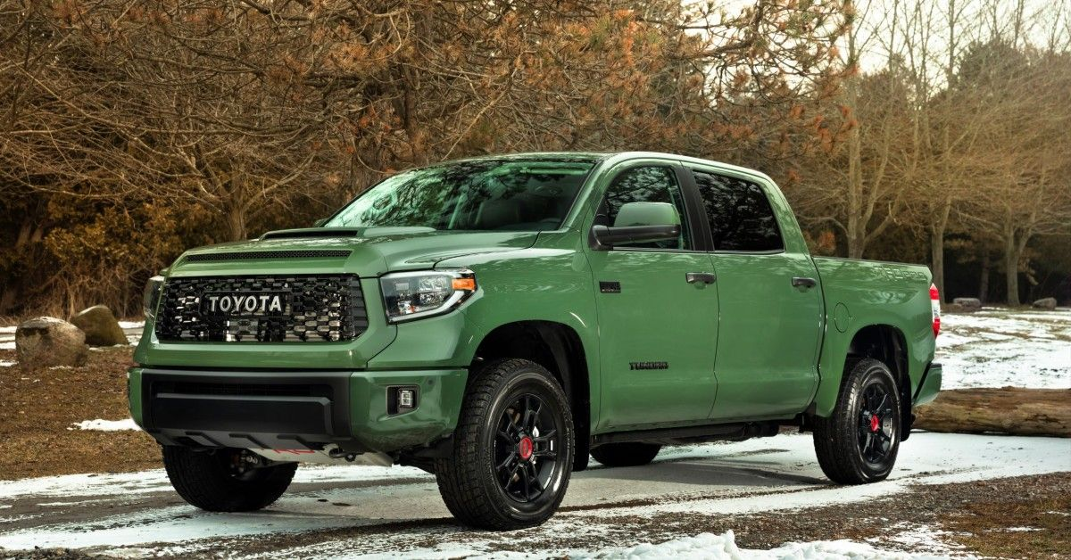 Everything We Know About The 2022 Toyota Tundra So Far   HotCars