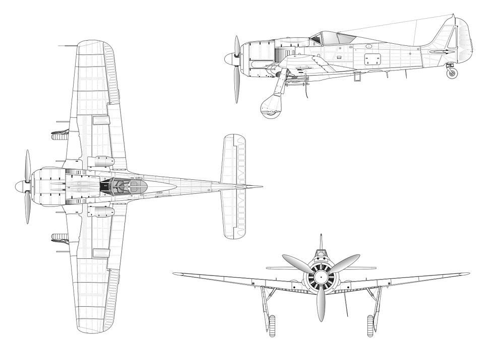 10 Things Everyone Forgot About The Focke-Wulf Fw 190   HotCars