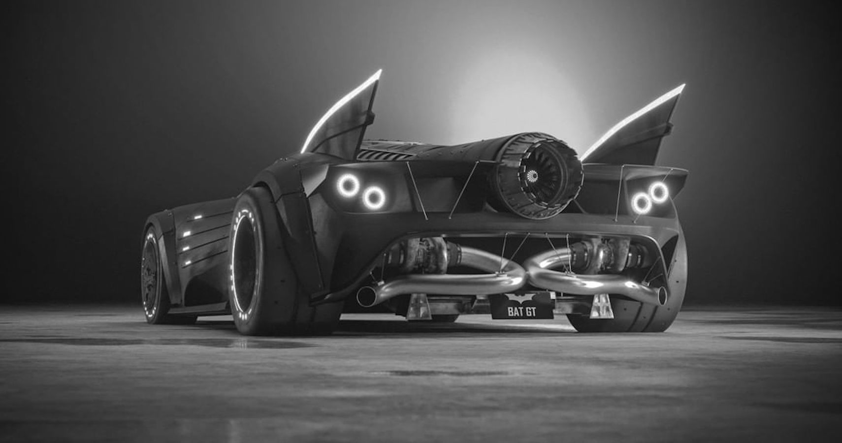 What If Batman Drove A Ford GT? This Batmobile Answers That Question