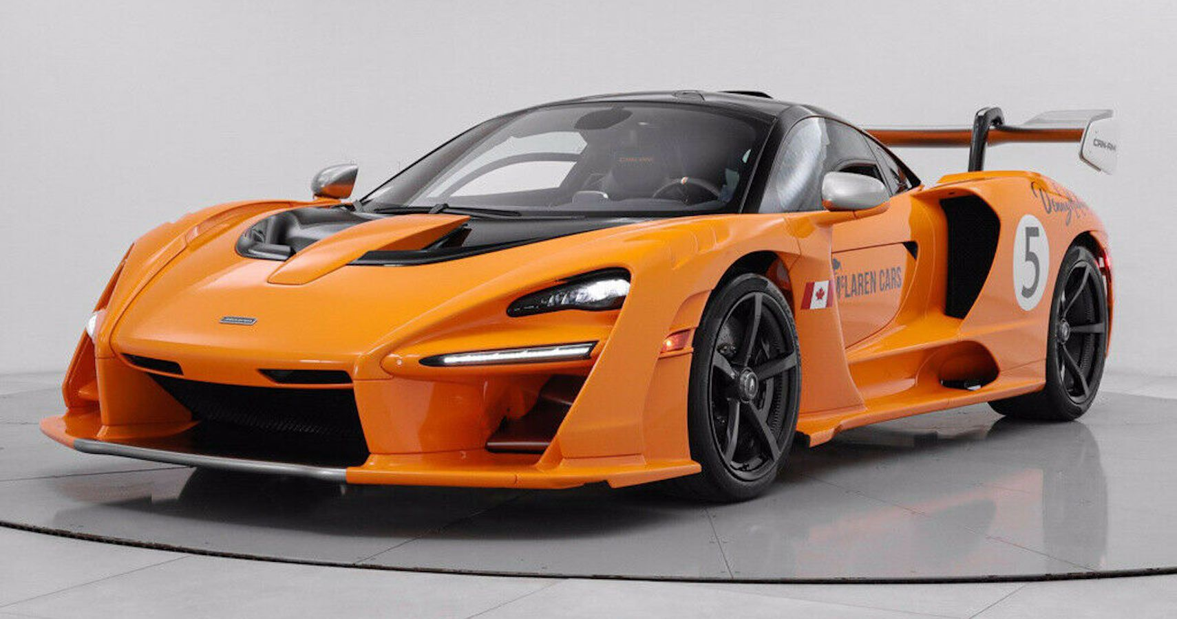 Stunning McLaren Senna Can-Am Listed For Sale At $3.3 Million