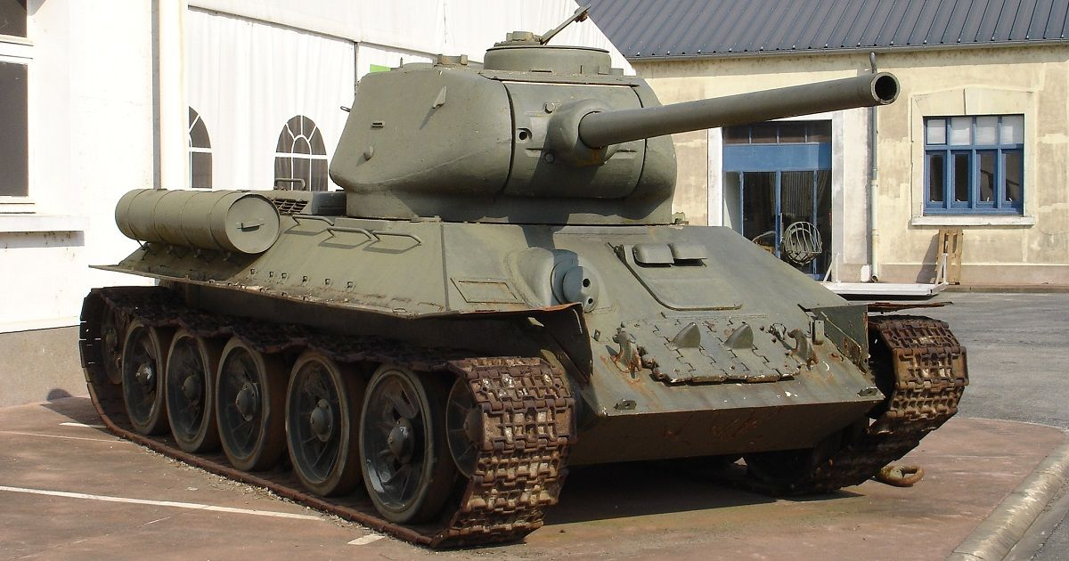 10 Little-Known Facts About The Soviet T-34 Tank | HotCars