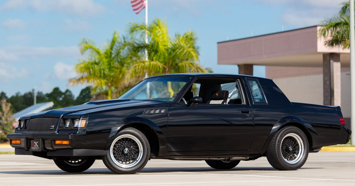 Buick Grand National And GNX: Costs, Facts, And Figures | HotCars