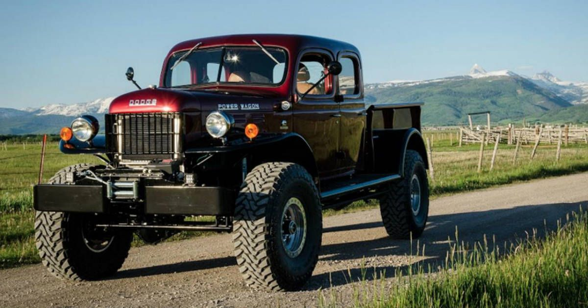 10 Things Everyone Forgot About The Dodge Power Wagon | HotCars