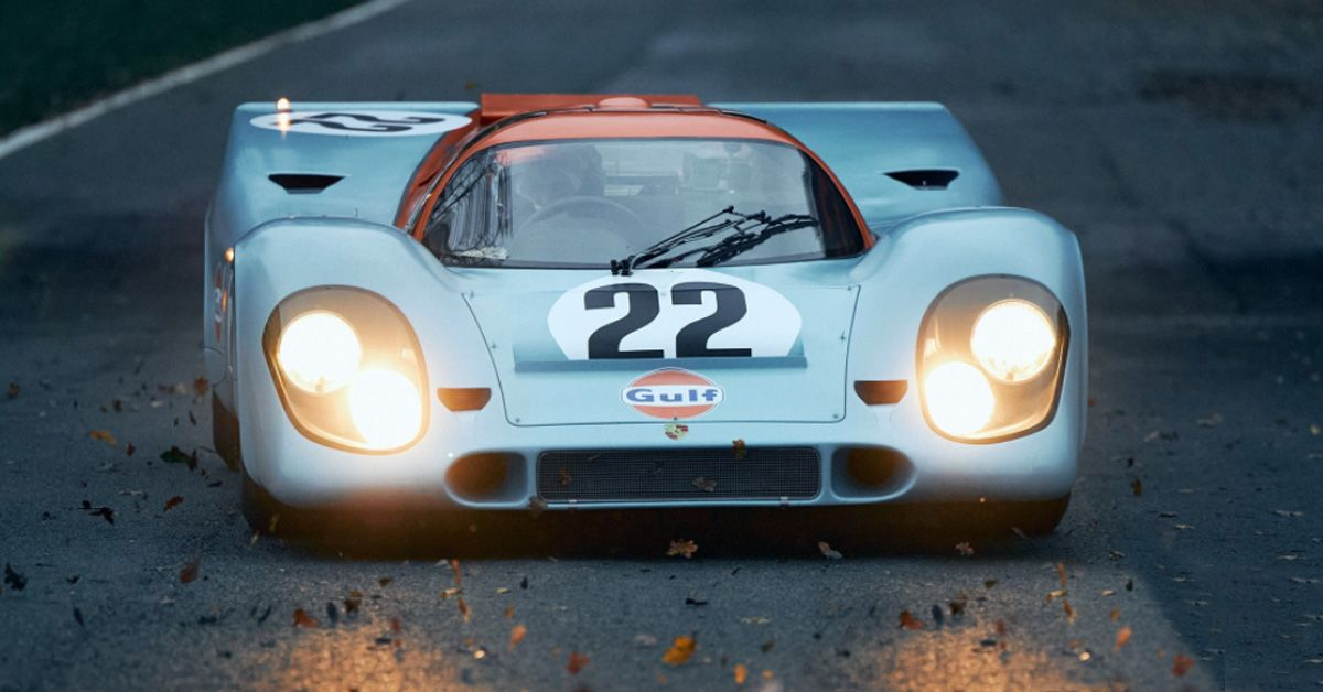 Here's How Much Steve McQueen's Porsche 917K From 'Le Mans' Is Worth Today