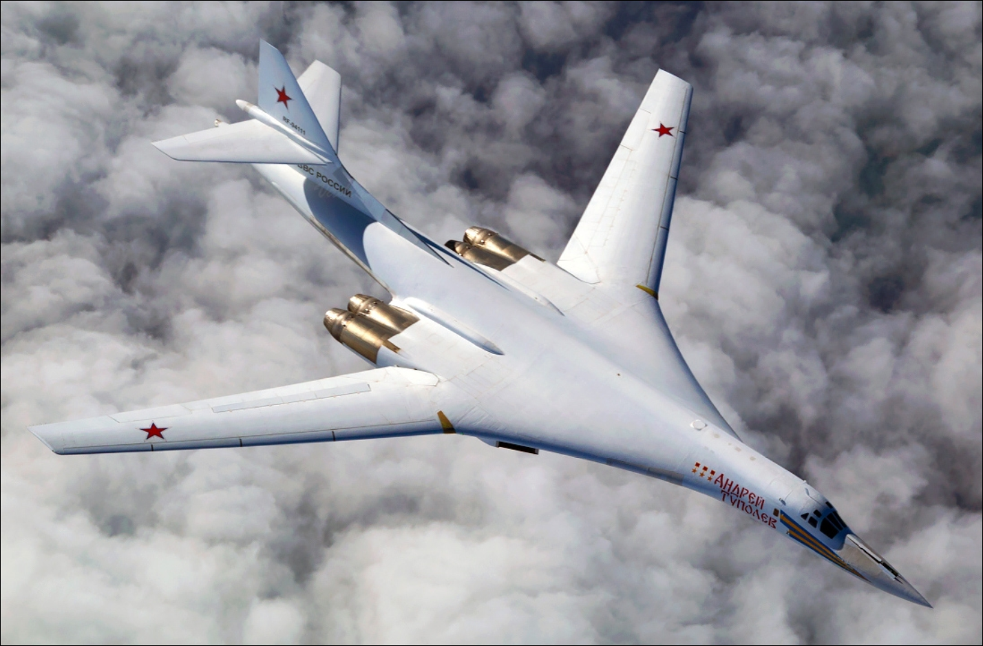 Everything You Need To Know About The Tu-160 Blackjack, The Largest Strategic Bomber In History