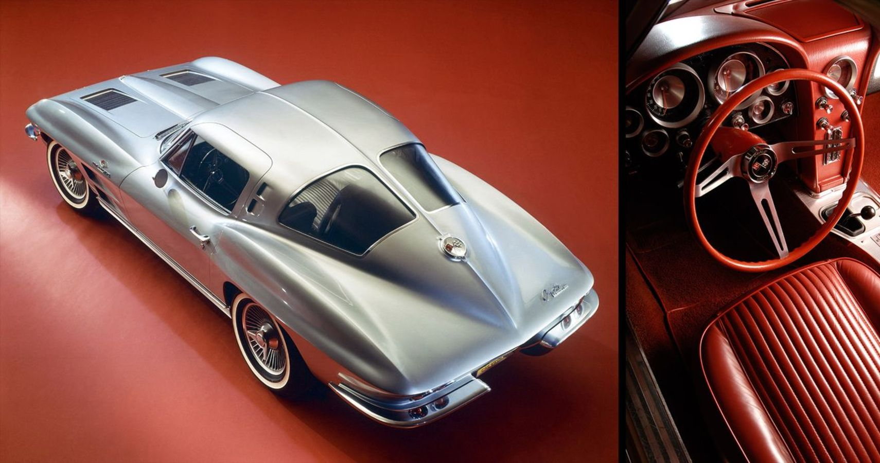 The 1963 Chevrolet Corvette Sting Ray Coupe Is One Of The Greatest American Designs