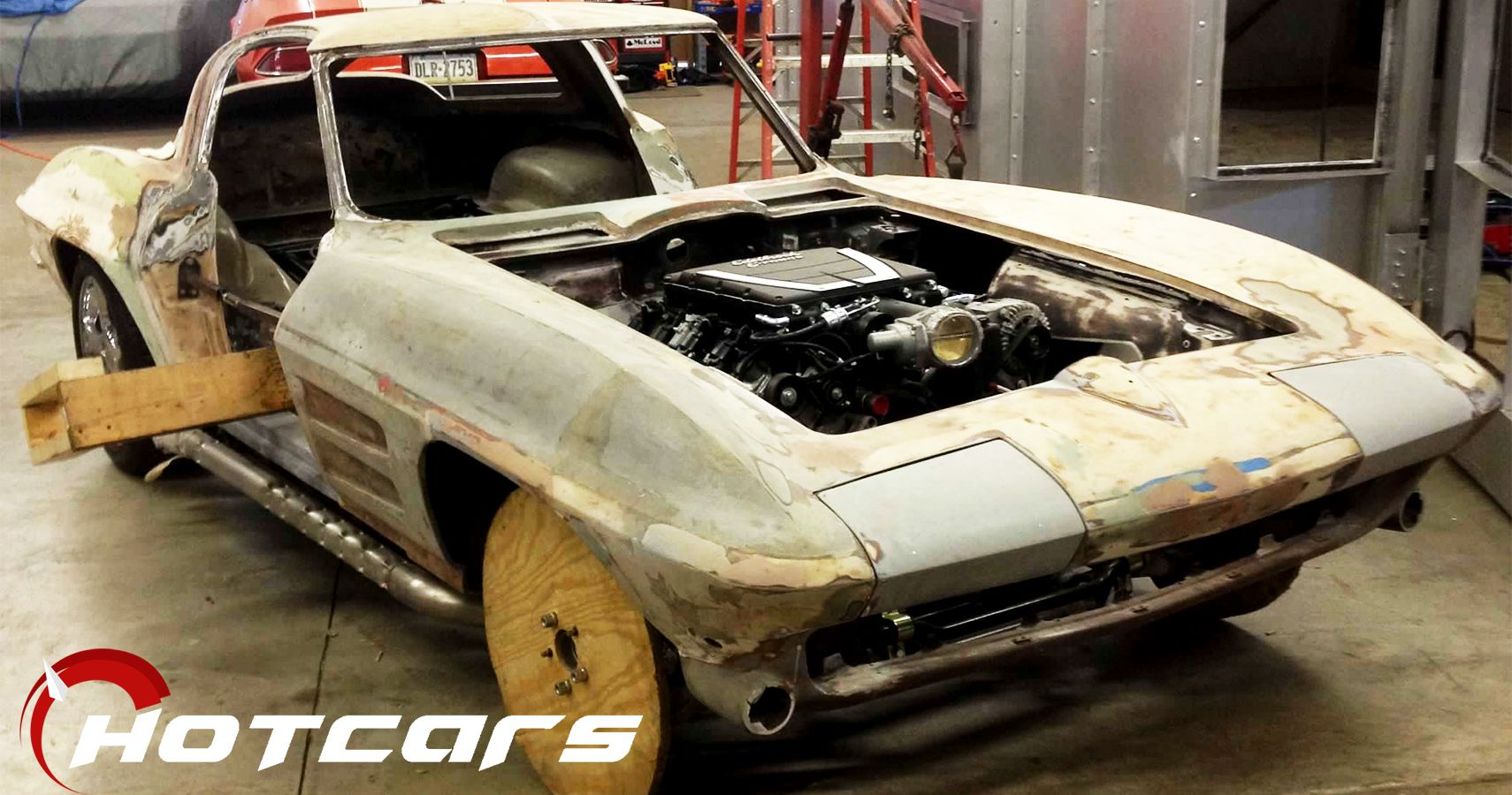 EXCLUSIVE: The Real Story Behind A 1963 Split-Window Corvette Restomod