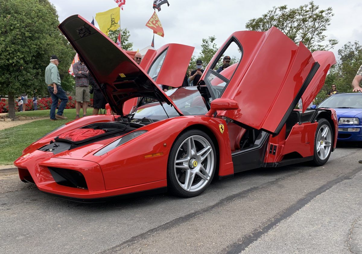 Spotted: Enzo Ferrari Previously Owned by Nicolas Cage | HotCars
