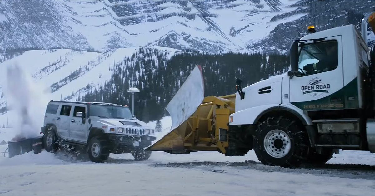 Here's Where The Snowplow From Liam Neeson's Cold Pursuit Is Today