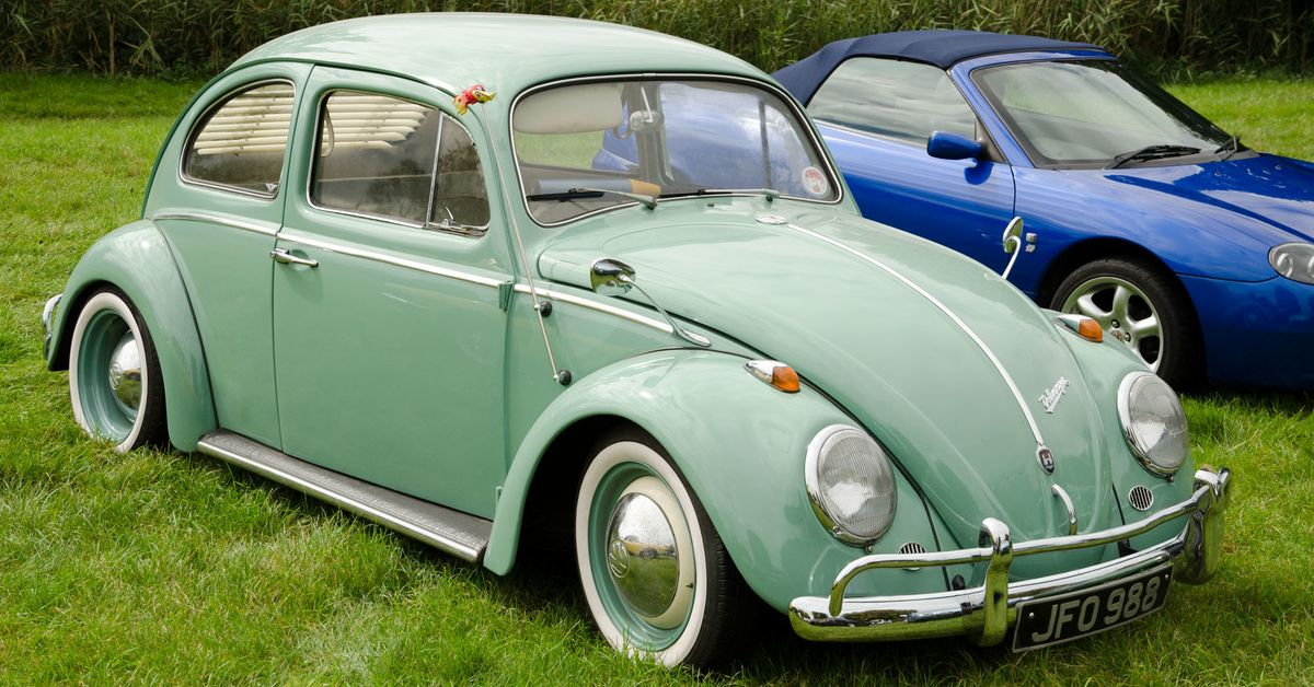 The VW Beetle Has A Weird History Of Windshield Washer Systems