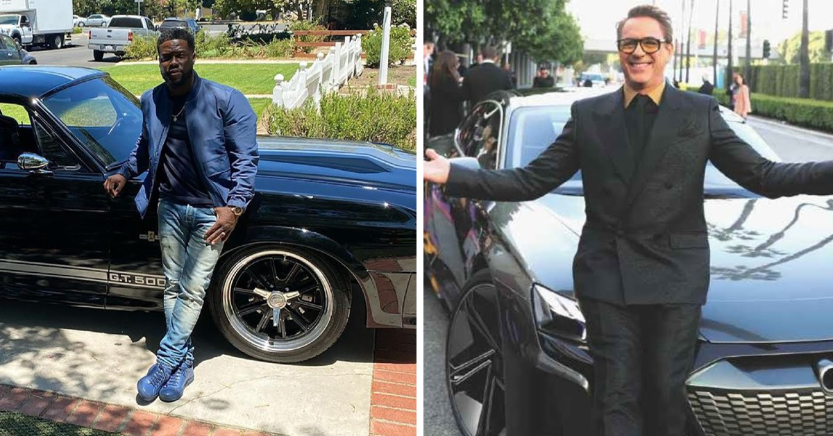 Kevin Hart Vs Robert Downey Jr: Who Has The Sickest Cars?