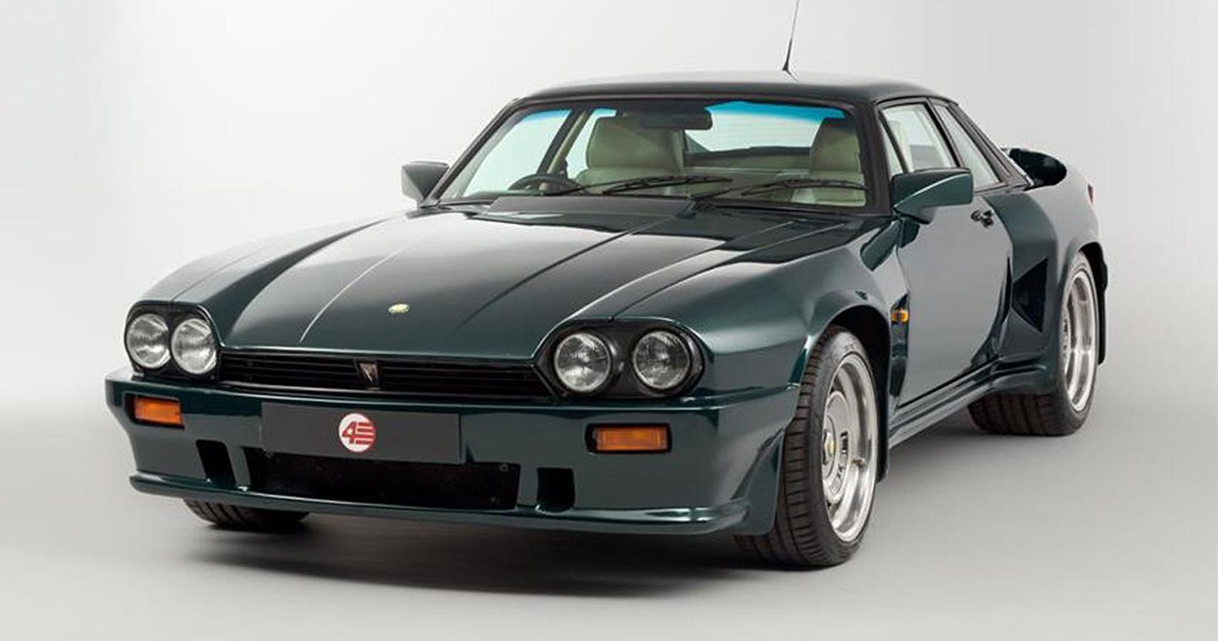 A Rare Jaguar XJS Modified By Lister Was Sold At Auction