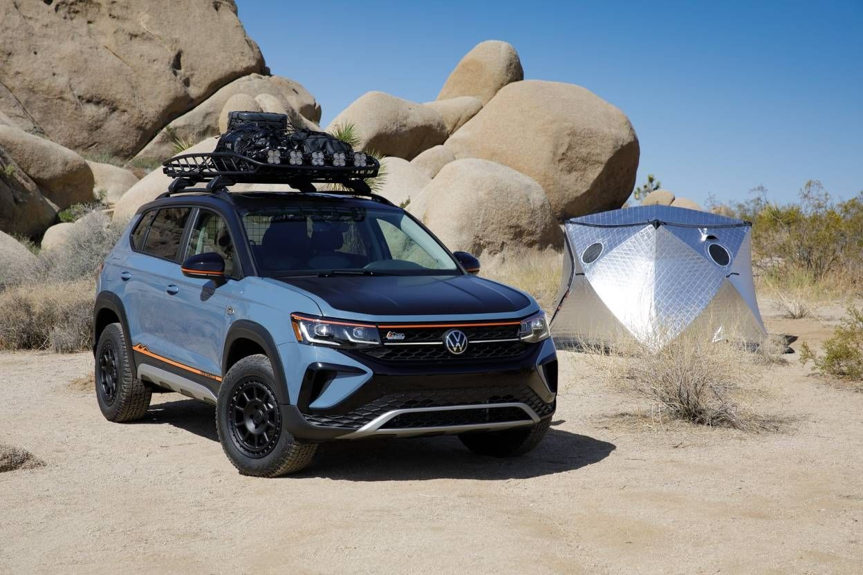 The Taos Basecamp Concept Shows Us That VW's Smallest SUV Can Be a Proper Adventure Vehicle