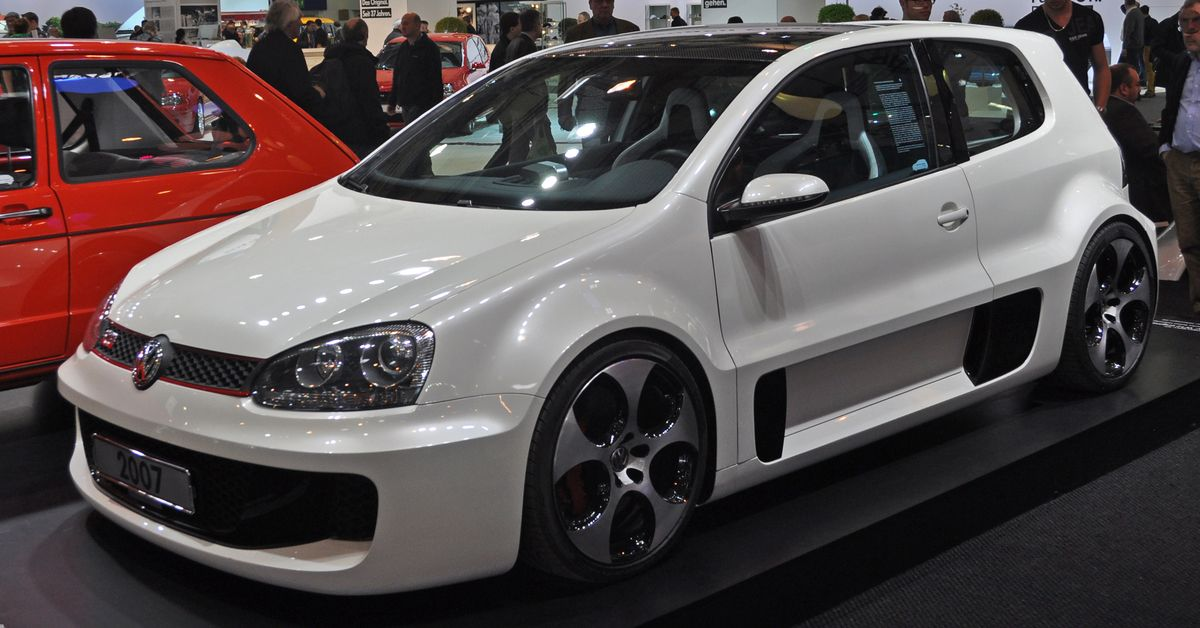 This Is How VW Once Matched A Bentley W-12 With The Golf GTI